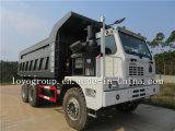 좁고 깊은 골짜기 HOWO 70t 덤프 트럭, 판매를 위한 탄광 팁 주는 사람