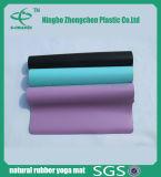 Latex-Gummi u. nicht giftige Chemikalien PU-Yoga-Matten-Naturkautschuk-Yoga-Matten
