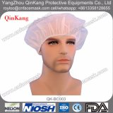 Protezione Bouffant rotonda dell'infermiera della protezione del cappello a gettare per chirurgico