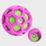 Haltbares Haustier-Kugel-Spielzeug-quietschendes Hundespielzeug