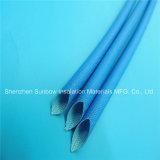 Matériaux d'isolation et tube résistant à haute tension 2.5kv d'Insulaiton de fibre de verre de silicones de protection de fil