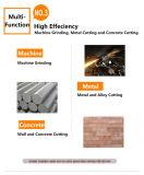 Smerigliatrice di angolo elettrica degli attrezzi a motore della Cina per la pietra (KD63)