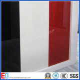 Colored Peinture Verre / blanc Peinture en verre / soie blanche Peinture à l'écran en verre