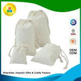カスタム綿のジュートのドローストリングのパッキングまたは包装のための昇進のギフト袋