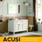 Neue erstklassige heiße verkaufende einfache Art-festes Holz-Badezimmer-Eitelkeits-Badezimmer-Schrank-Badezimmer-Möbel (ACS1-W39)