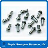 Pin d'acciaio d'ottone di alluminio su ordine del ribattino dell'asta cilindrica