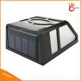 Luz ao ar livre impermeável do diodo emissor de luz da potência solar da iluminação de 2 diodos emissores de luz, luz solar do jardim