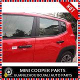 Cubierta negra material de la maneta de puerta del estilo del ABS del accesorio auto para el modelo renegado (4PCS/SET)
