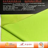 Tela de nylon impermeable superior con el forro del PVC para el impermeable