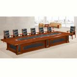 Mesa de reuniones antigua china de la sala de reunión de la oficina de madera sólida