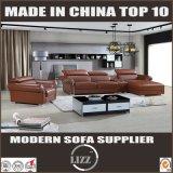 Sofa à la maison de coin de combinaison de meubles avec l'accoudoir