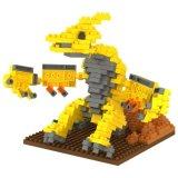 14889332マイクロブロックキットの恐竜シリーズブロックは創造的な教育DIYのおもちゃ310PCS - Pterosauria --をセットした