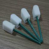 Palillo plástico dental médico de la esponja de la esponja de la maneta