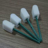 Medizinischer zahnmedizinischer Plastikgriff-Schwamm-Putzlappen-Stock