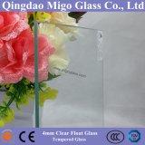 blad van het Glas van de Vlotter van het Glas van 4mm het Vlakke Aangemaakte Duidelijke Zonne