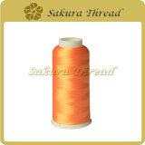 Het Merk van Sakura van de Draad van het Borduurwerk van de Polyester van de Gloeidraad van de Polyester van 100%