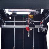 Impresión de escritorio certificada RoHS 3D de la boquilla de la FCC del Ce del SGS de la talla grande doble del edificio