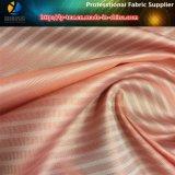 女性のスーツのライニングのためのピンクか白い縞ファブリック