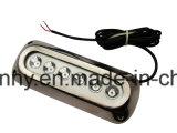 최고 판매 18W 스테인리스 LED 수중 가벼운 배 빛, 항법을%s LED 작동 빛