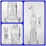 De Waterpijp van de Waterpijp van het Glas van de Boorplatforms van de recycleermachine en van het Glas van Boorplatforms met Ronde Goede Recycleermachine Cycler en Percolator