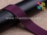 Correas de nylon del poliester de la tela cruzada de la buena calidad para los accesorios del bolso