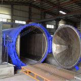 Autoclave de cristal de la calefacción eléctrica con los ingenieros disponibles para el servicio