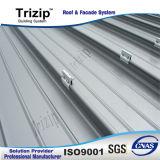 Sistema derecho del revestimiento de Roofing&Wall de la costura