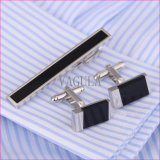Clip de relation étroite de cadeau de Pin de relation étroite d'agate de tirant de VAGULA Business De Corbata Onyx 35