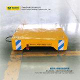 Reboque motorizado industrial de aço de transferência do trilho