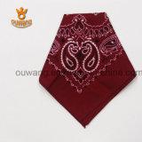 De aangepaste Katoenen Vierkante Sjaal van Paisley