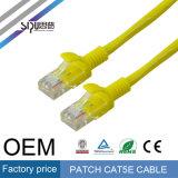 Câble cat5e de cuivre de cordon de connexion de Sipu Cat5e UTP pour le réseau