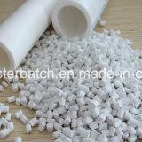 Weißes Plastikmasterbatch