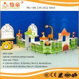 Jogo feliz da coleção do gabinete do brinquedo do estilo do castelo