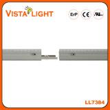 Luz linear do diodo emissor de luz da extrusão de alumínio 130lm/W 3700-6500k para o supermercado