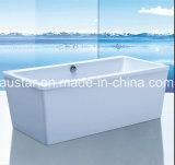 Nieuwe 1700mm Rectangle Freestanding Bathtub SPA voor Project (bij-9058)