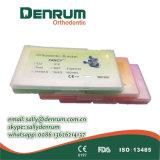 ISO de lujo FDA del Ce del corchete de la base del acoplamiento del corchete de Roth de los materiales ortodónticos de Denrum