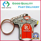 Double Sided 3D Cute Logo Rubber / Plastic / Soft PVC Key Chain para Promoção