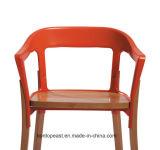 Présidence colorée en bois solide avec le bâti en acier