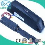 48V 11.6ah Hailong unten Gefäß Li-Polymer-Plastik Ebike Batterie mit Aufladeeinheit