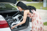 小型シャフトドライブの折るバイクの余暇のアルミ合金6061フレームのバイク