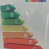 Het doorschijnende VinylVenster van de Druk van de Sticker binnen Grafische VinylSticker