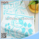 Комплект полотенца жаккарда картины кота хлопка T-025 100