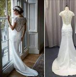 Destino original do projeto/vestido de seda branco sereia da praia