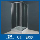 Grands compartiments en aluminium européens de douche de profil