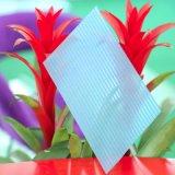 Лист поликарбоната кристаллический полый для крытого украшения