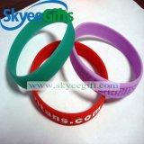Bracelet fait sur commande bon marché en gros respectueux de l'environnement de silicones de bracelet de sport