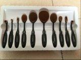 Vorm 10 van de Tandenborstel van de Hulpmiddelen van de make-up de PCs Geplaatste Multifunctionele Professionele Kosmetische Borstel van de Make-up