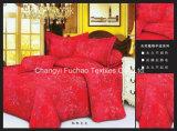 中国製ポリエステルMicrofiberはホームかホテルに使用した寝具セットを印刷した