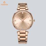 Moda Mulheres relógios de pulso de luxo com diamantes brilhantes 71303