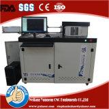 O sinal automático rotula a máquina de dobra da canaleta para Signage Companhia